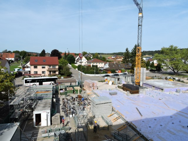 Schulhausneubau - September 2019 - 02