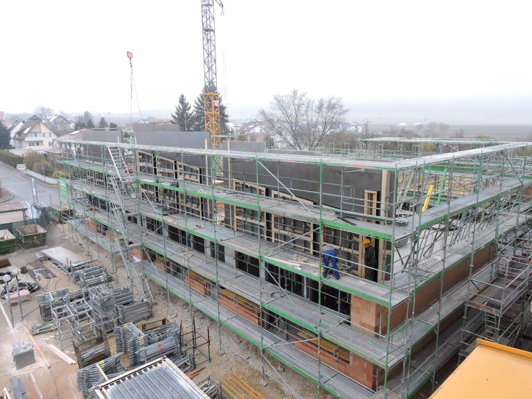 Grossansicht in neuem Fenster: Schulhausneubau - November 2019 -1