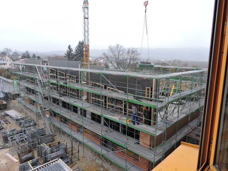 Grossansicht in neuem Fenster: Schulhausneubau - November 2019 - 3