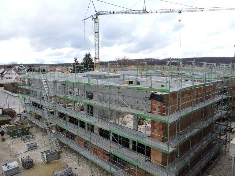 Grossansicht in neuem Fenster: Schulhausneubau - März 2020 - 1