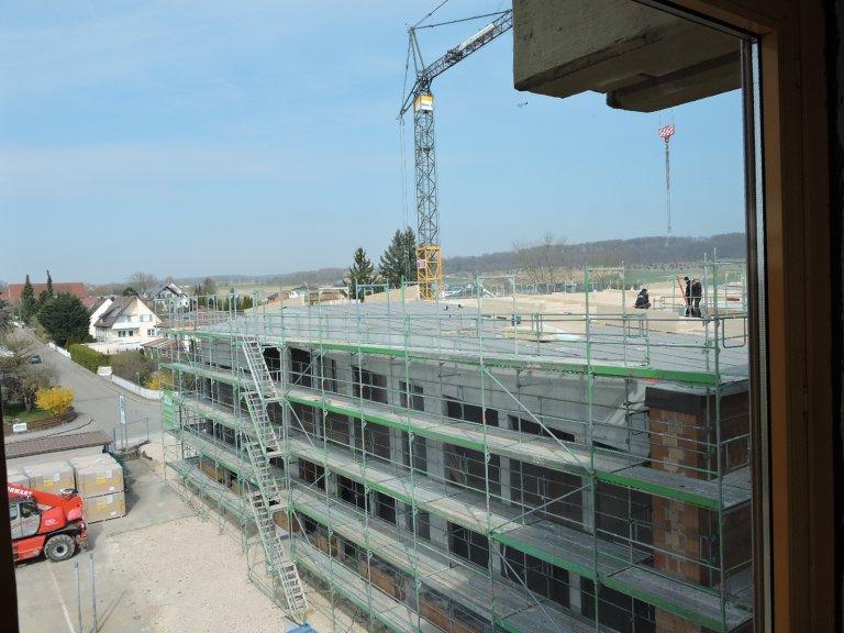 Grossansicht in neuem Fenster: Schulhausneubau - April 2020 -3