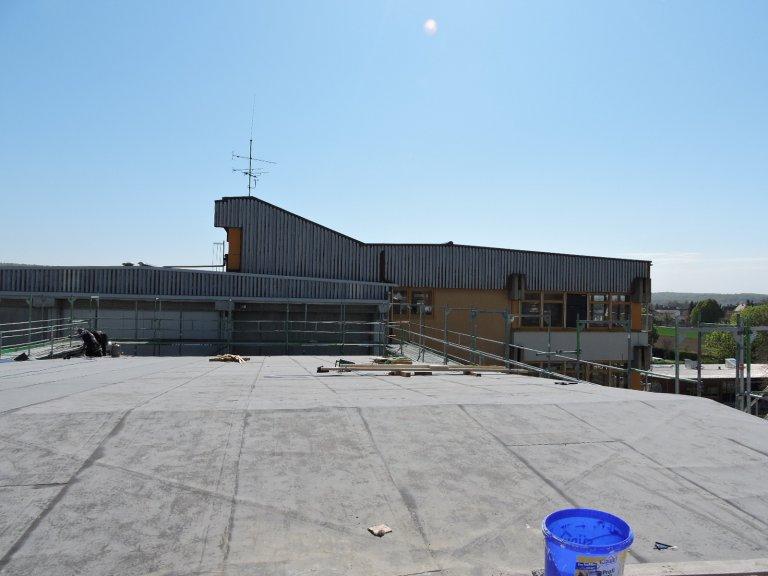 Grossansicht in neuem Fenster: Schulhausneubau - April 2020 - 4