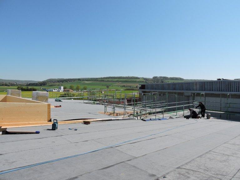 Grossansicht in neuem Fenster: Schulhausneubau - April 2020 - 6