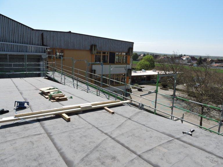 Grossansicht in neuem Fenster: Schulhausneubau - April. 2020 - 7