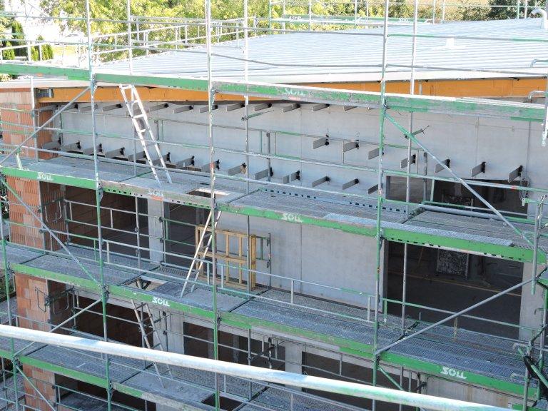 Grossansicht in neuem Fenster: Schulhausneubau - Juli 2020 - 7