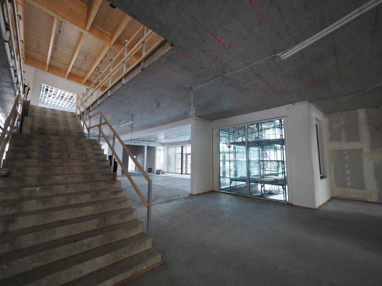 Grossansicht in neuem Fenster: Schulhausneubau - Februar 2021 - 1
