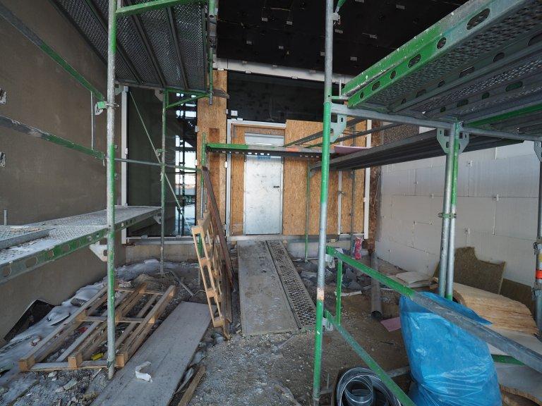 Grossansicht in neuem Fenster: Schulhausneubau - Februar 2021 - 8